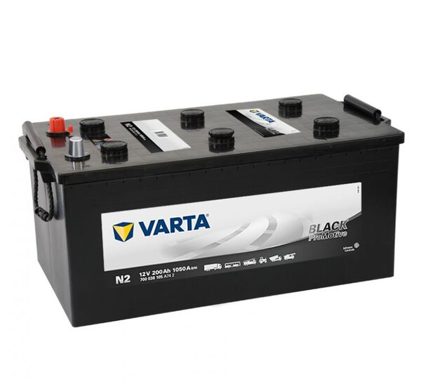 VARTA PROMOTIVE BLACK N2 200Ah 1050A