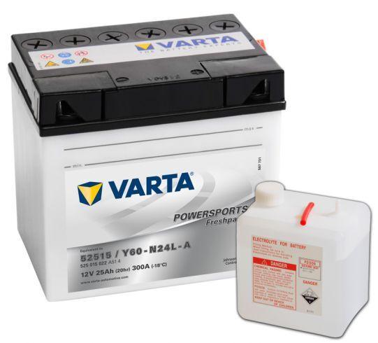 VARTA POWERSPORTS Freshpack 12V 25Ah 300A