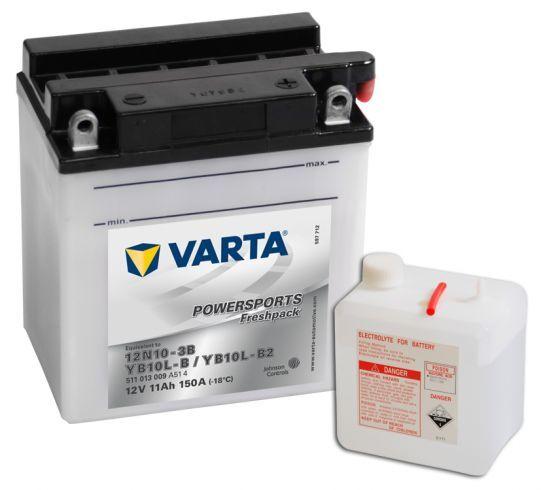 VARTA POWERSPORTS Freshpack 12V 11Ah 150A