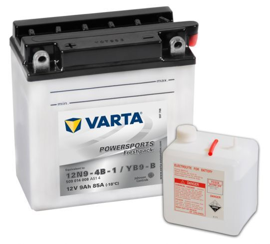 VARTA POWERSPORTS Freshpack 12V 9Ah 85A