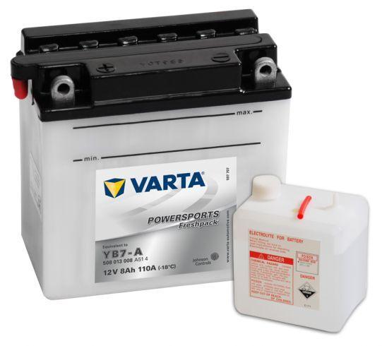 VARTA POWERSPORTS Freshpack 12V 8Ah 110A