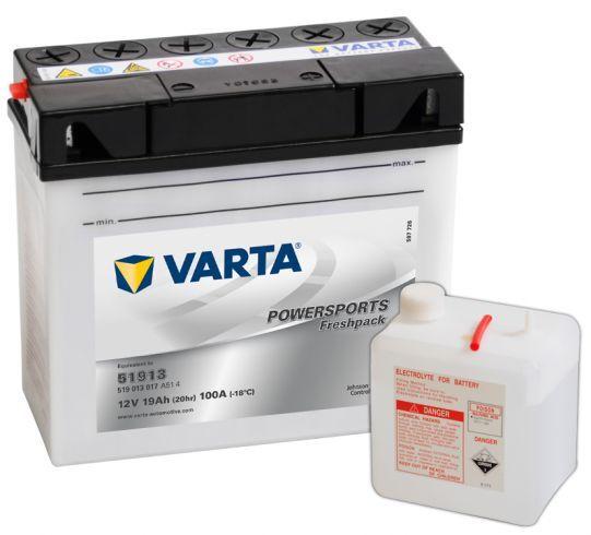 VARTA POWERSPORTS Freshpack 12V 19Ah 100A