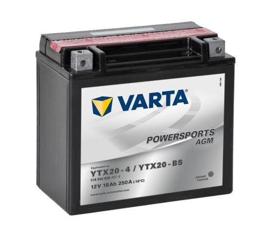 VARTA POWERSPORTS AGM 12V 18Ah 250A