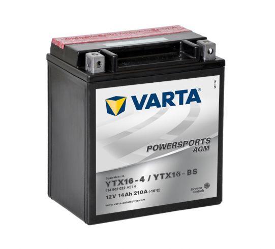 VARTA POWERSPORTS AGM 12V 14Ah 210A