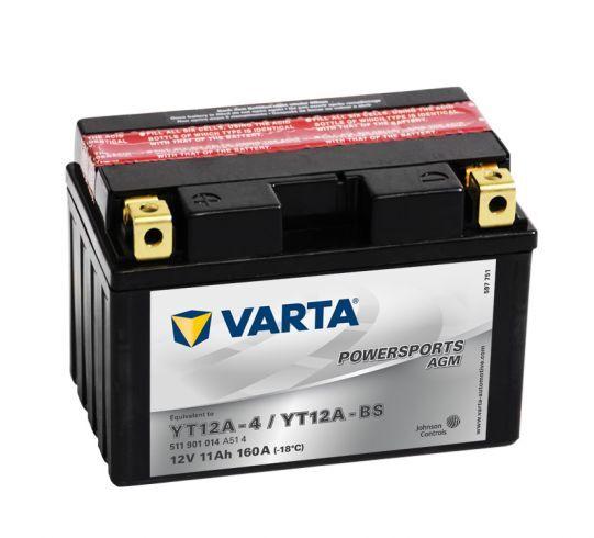 VARTA POWERSPORTS AGM 12V 11Ah 160A