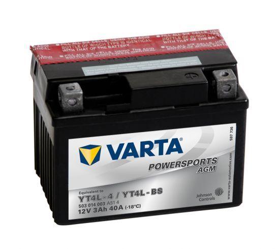 VARTA POWERSPORTS AGM 12V 3Ah 40A