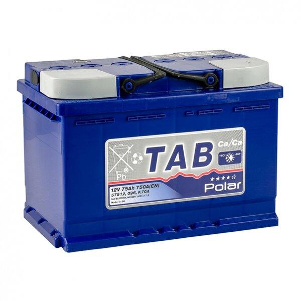 TAB Polar Blue B75H 75Ah 750A