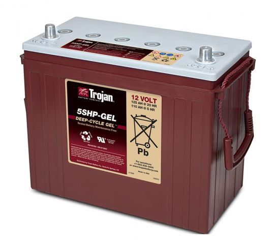TROJAN DEEP-CYCLE GEL 12V 125Ah