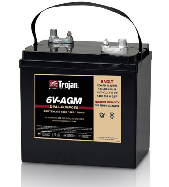 TROJAN DUAL PURPOSE AGM 6V 200Ah