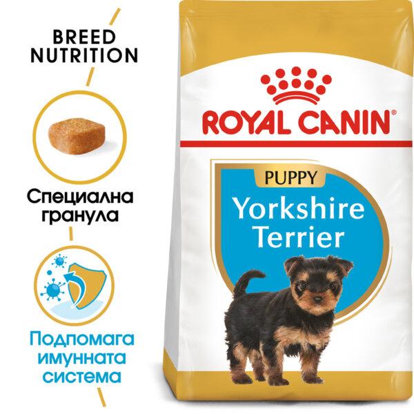 ROYAL CANIN Yorkshire Puppy ЙОРКШИРСКИ ТЕРИЕР ПОДРАСТАЩ