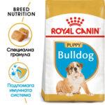ROYAL CANIN Bulldog Puppy АНГЛИЙСКИ БУЛДОГ ПОДРАСТВАЩИ