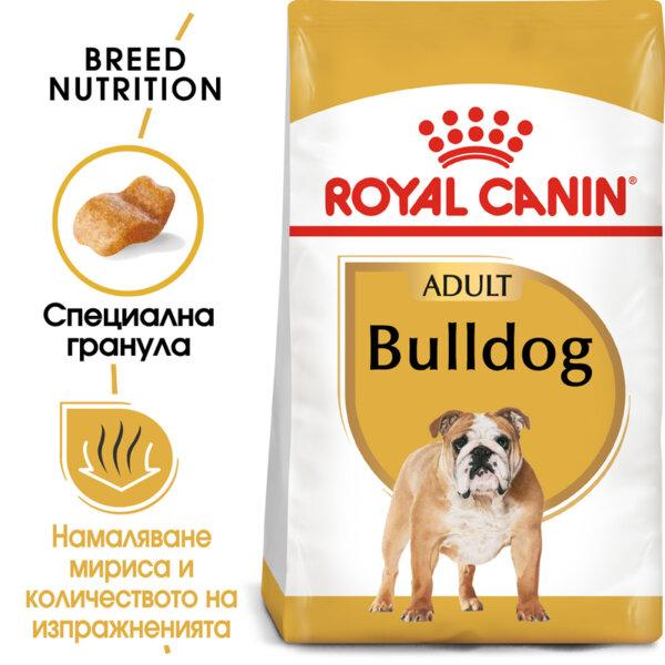 ROYAL CANIN Bulldog Adult АНГЛИЙСКИ БУЛДОГ ВЪЗРАСТНИ