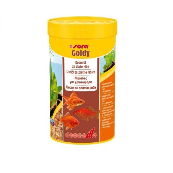 Храна за златни рибки SERA GOLDY - 250мл