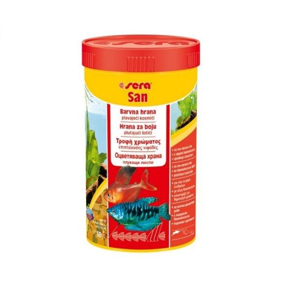 Храна за подсилване на цветовете SERA San - 12гр