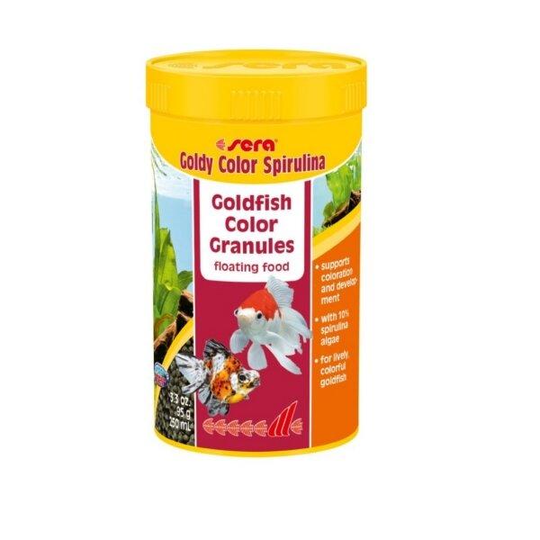 Храна за Златни рибки SERA Goldy Color - 250мл