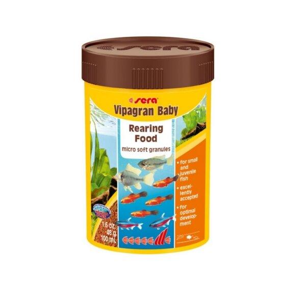 Храна за рибки под 4см SERA Vipagran Baby - 50мл