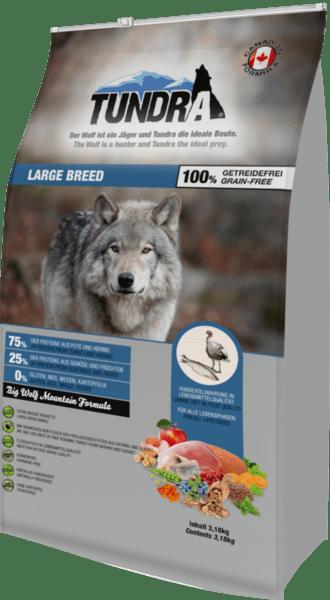 Tundra Пуйка и херинга - храна за едри кучета