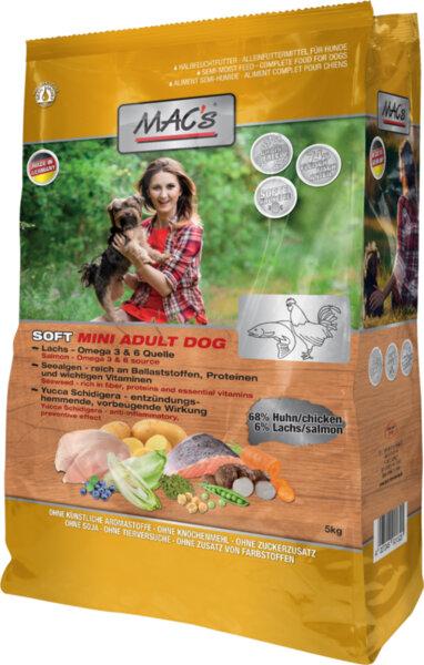 Mac's Soft пиле и риба - храна за дребни породи