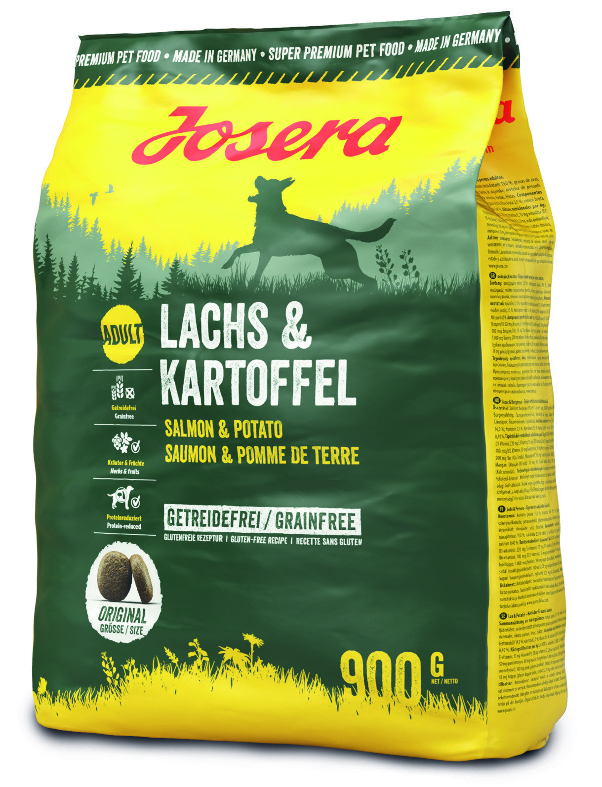 JOSERA DOG LACHS & KARTOFFEL