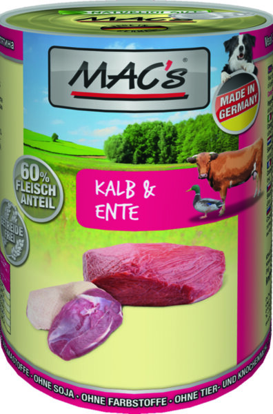 Mac's телешко, патешко и картофи