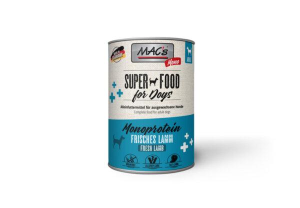 Mac's монопротеин агне - храна за чувствителни кучета