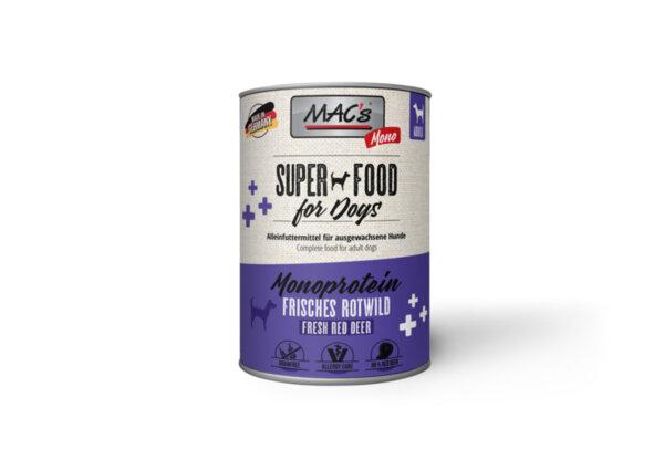 Mac's монопротеин дивеч - храна за чувствителни кучета