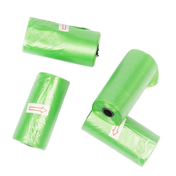 Duvo биоразградими зелени торбички 4 ролки х 20 бр.