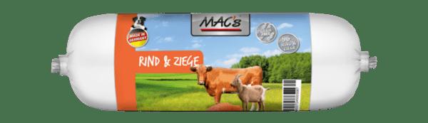 Mac's салам 14% козе и 62% говеждо - пълноценна храна за кучета