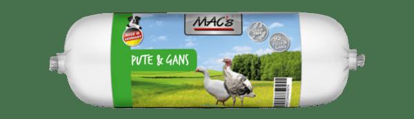 Mac's салам 72% пуйка и 23% гъска - пълноценна храна за кучета