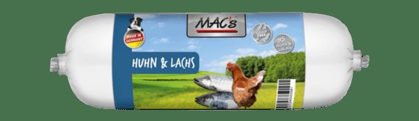 Mac's салам 68% пиле и 27% сьомга - пълноценна храна за кучета