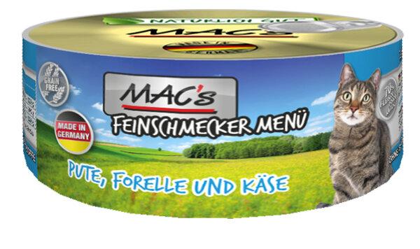 Mac's menu пуйка, пъстърва и сирене 100 гр.