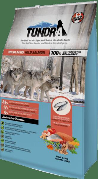 Tundra Дива сьомга - храна за кучета в зряла възраст