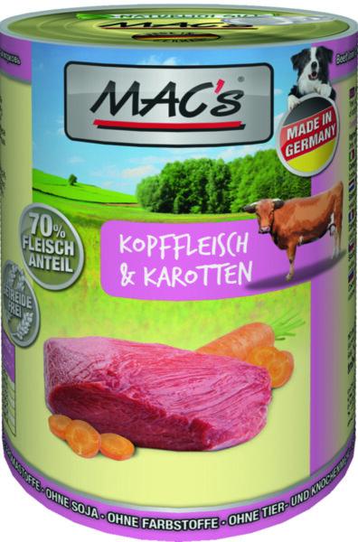 Mac's говеждо от врат и моркови