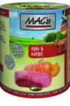 MAC'S DOG 800гр. ГОВЕЖДО И ТИКВА