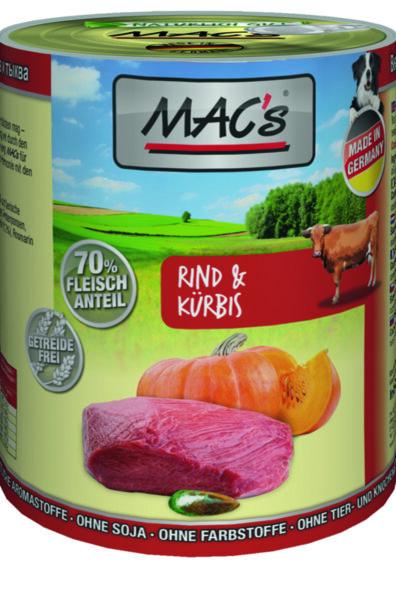 Mac's говеждо и тиква