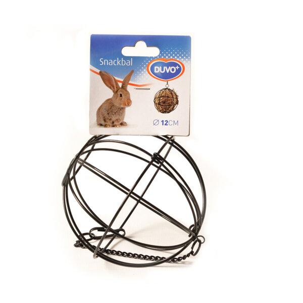 Duvo метална топка за сено или лакомства 8 см; 12см.