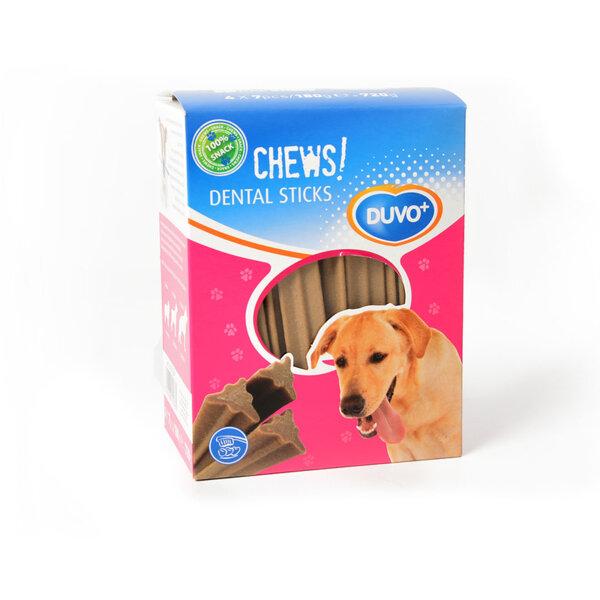 Duvo Dental Chews! дентални пръчици 28 бр. / 720 гр.