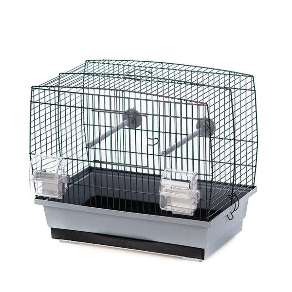 Duvo Natalia 1 клетка за птици сиво/черно 40 х 25 х 35 см.