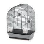 Duvo Lusi 1 клетка за птици сиво/черно 39 х 25 х 53 см.