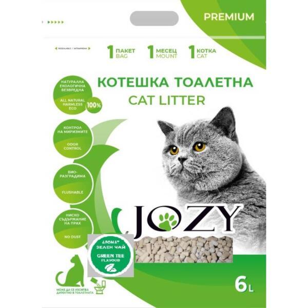 СОЕВА КОТЕШКА ТОАЛЕТНА  JOZY CAT LITTER 6л.