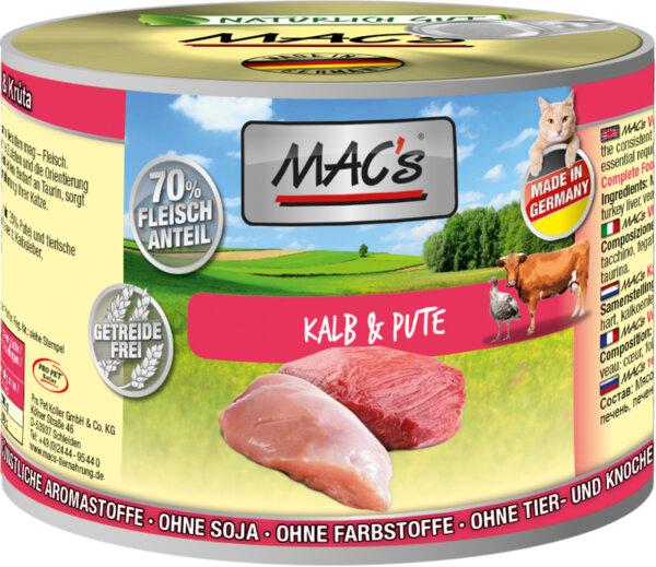 Mac's телешко и пуешко месо