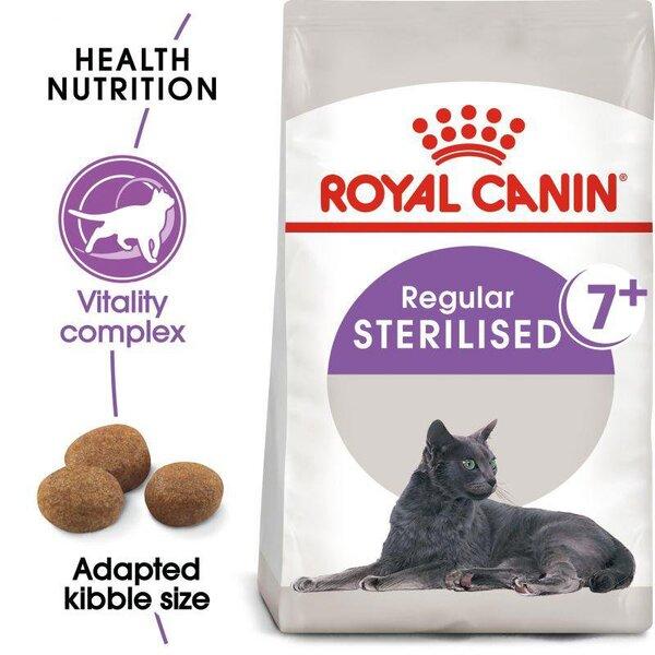 ROYAL CANIN Sterilised 7+ КАСТРИРАНИ КОТКИ НАД 7 ГОДИНИ