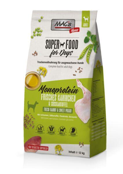 Mac's монопротеин заек - суха храна за кучета податливи на алергии