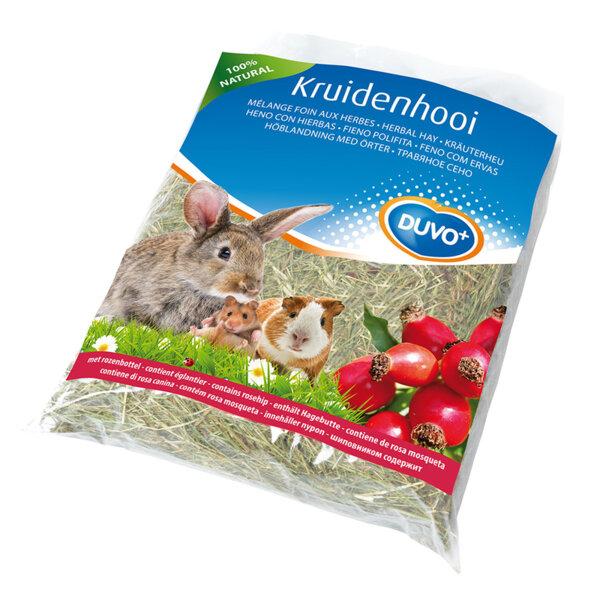 Duvo сено с глухарче / лайка / домат / морков / шипка 500 гр.