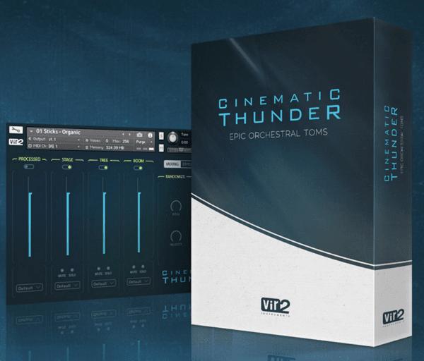 Vir2 Cinematic Thunder: Epic Orchestral Toms Instrument Virtuel