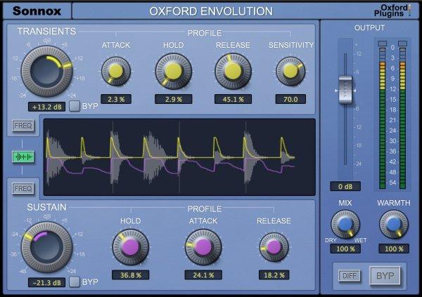 Sonnox Envolution Plugins Audio VST AU AAX