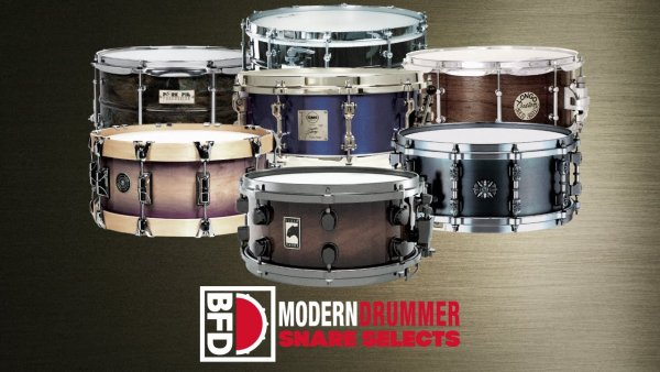 FXpansion Modern Drummer Snare Selects