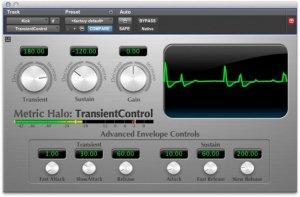 Metric Halo TransientControl