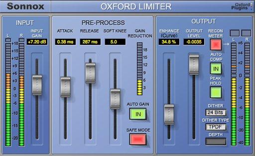 Sonnox Limiter HD