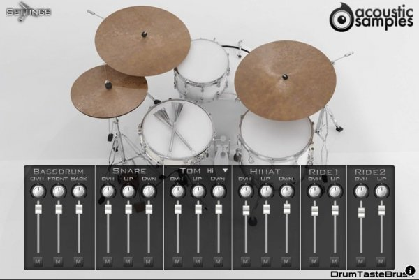 Acousticsamples DrumTasteBrush